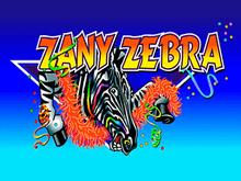 Играть на деньги в автомат Zany Zebra