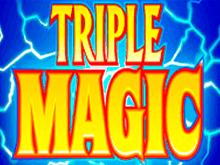 Автомат Тройная Магия в клубе Вулкан